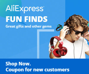 Shop AliExpress and get 2% Cash Back