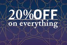 Get ready for Ramadan with 20% OFF on everything