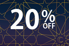 Save 20% on any orders for a limited time