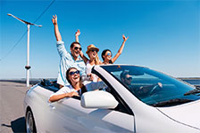 Save up to 10% on car rental worldwide