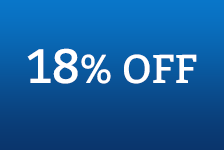 Get 18% OFF Sitewide