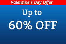 Up to 60% OFF jewelry for Valentine's Day