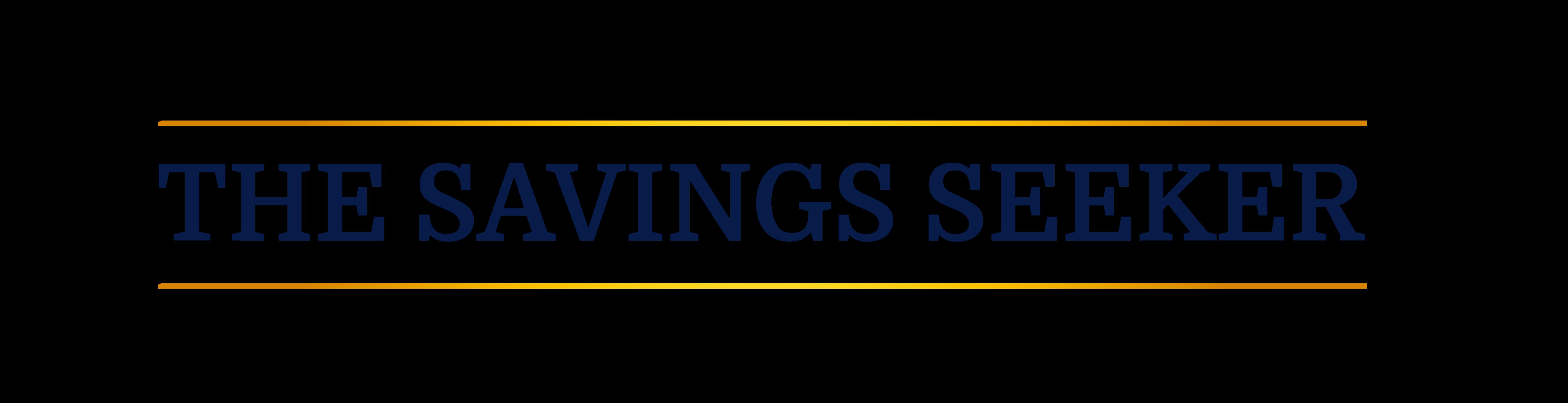 The Savings Seeker Blog