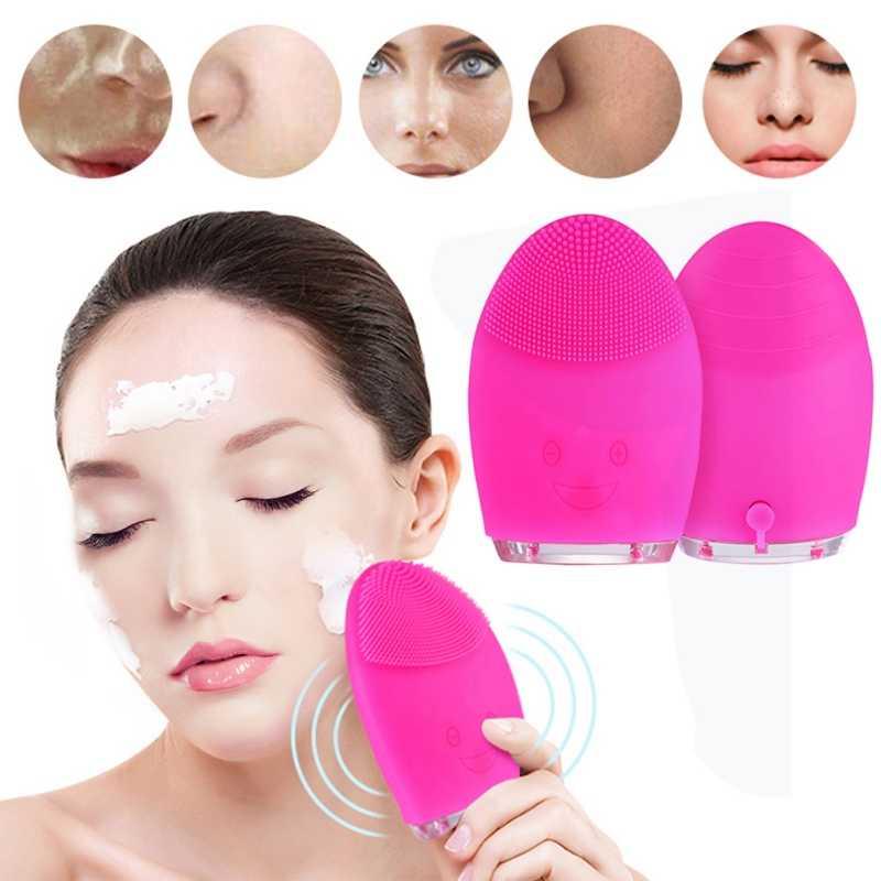 فوائد فرشاة تنظيف الوجه السيليكون