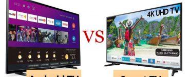 الفرق بين شاشة تلفزيون سمارت واندرويد smart tv vs android tv