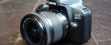 مميزات وعيوب كاميرا كانون canon eos 4000d