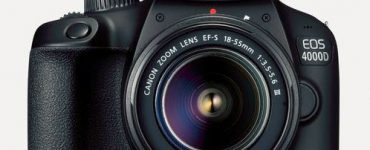 مواصفات كاميرا كانون canon EOS 4000D سعرها