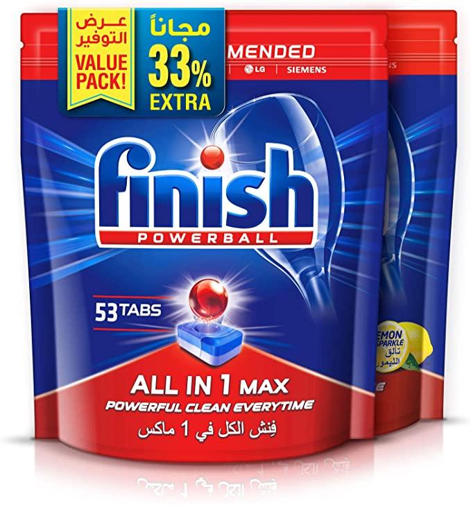 اقراص تنظيف فينيش من امازون الامارات