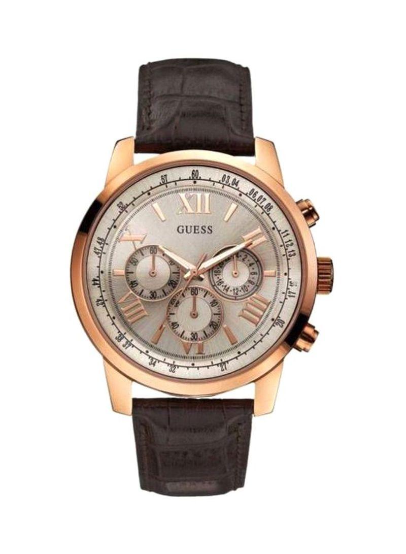ساعة يد كرونوغراف من نون مصر ماركة Guess