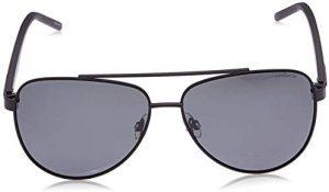 نظارات شمسية افياتور للرجال من بولارويد لون أسود